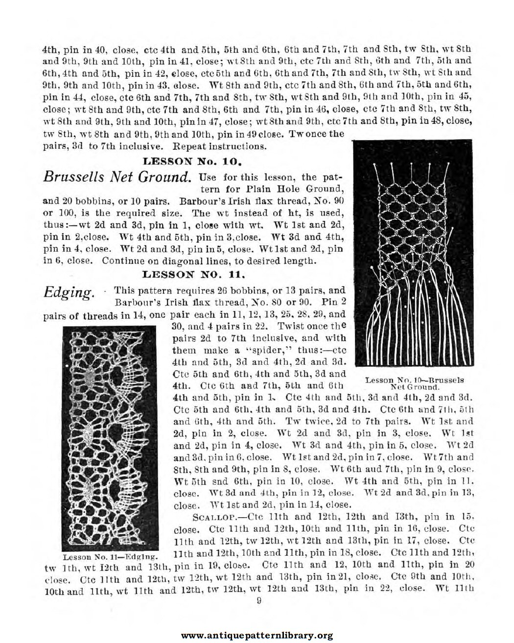 6-DA027 American Lace Maker (Illustrated) Vol. 1 and Vol. 2.
