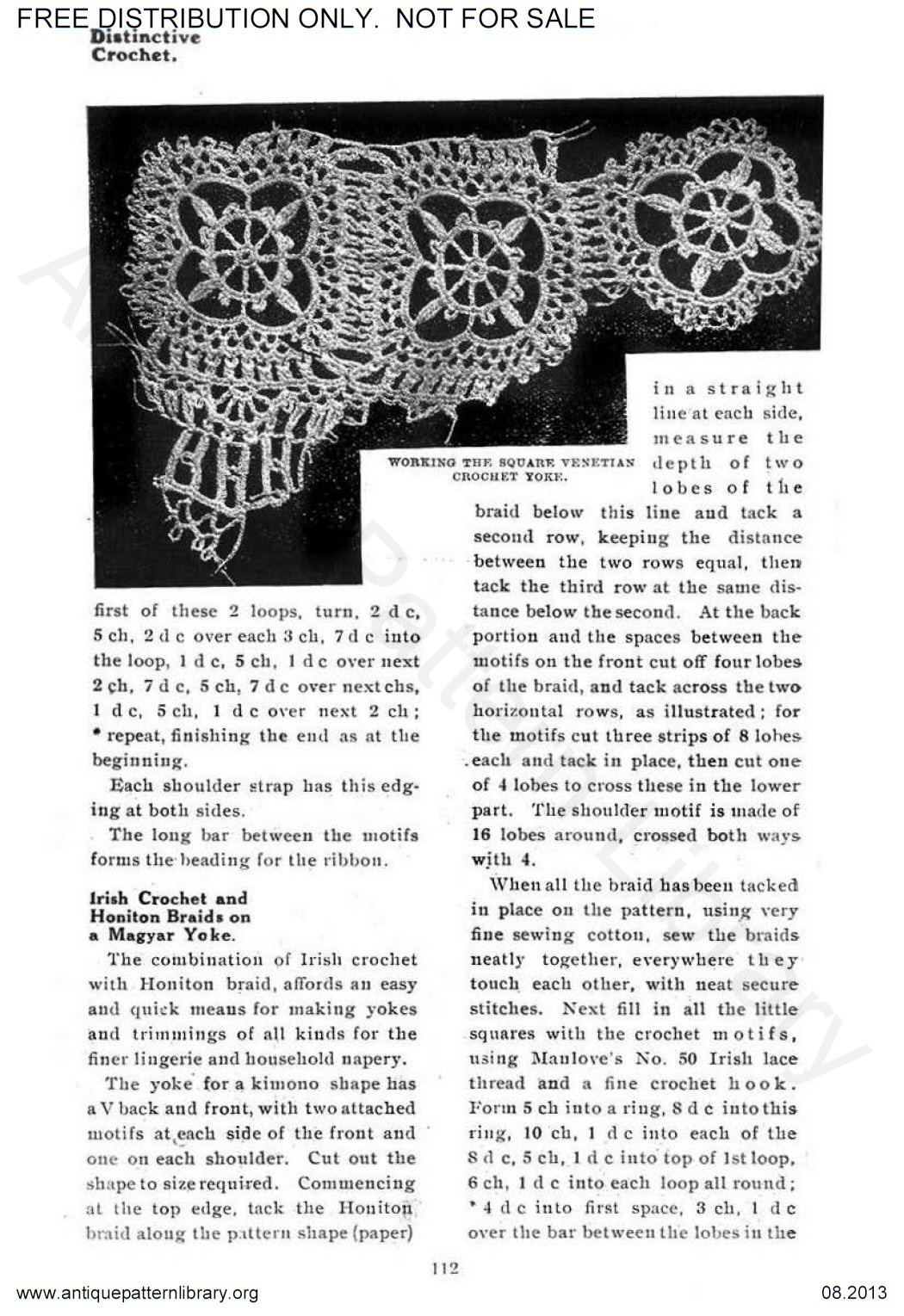6-EN004 Distinctive Crochet,