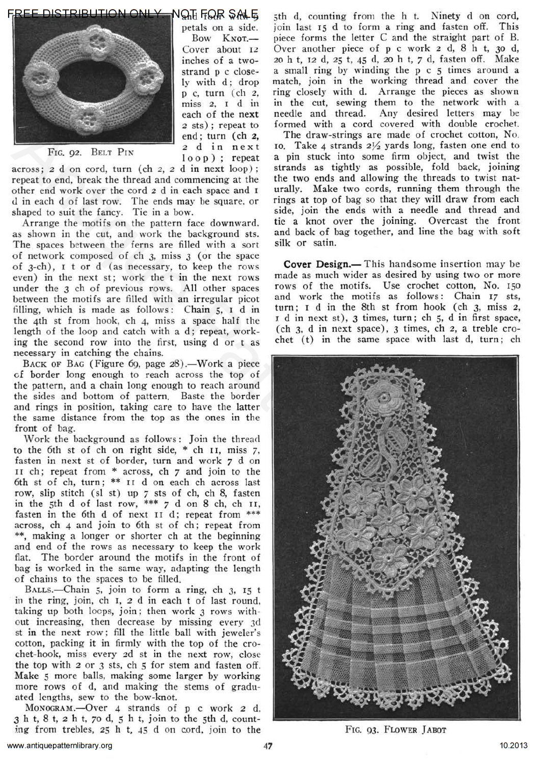 6-JA025 Priscilla Irish Crochet Book No. 2,