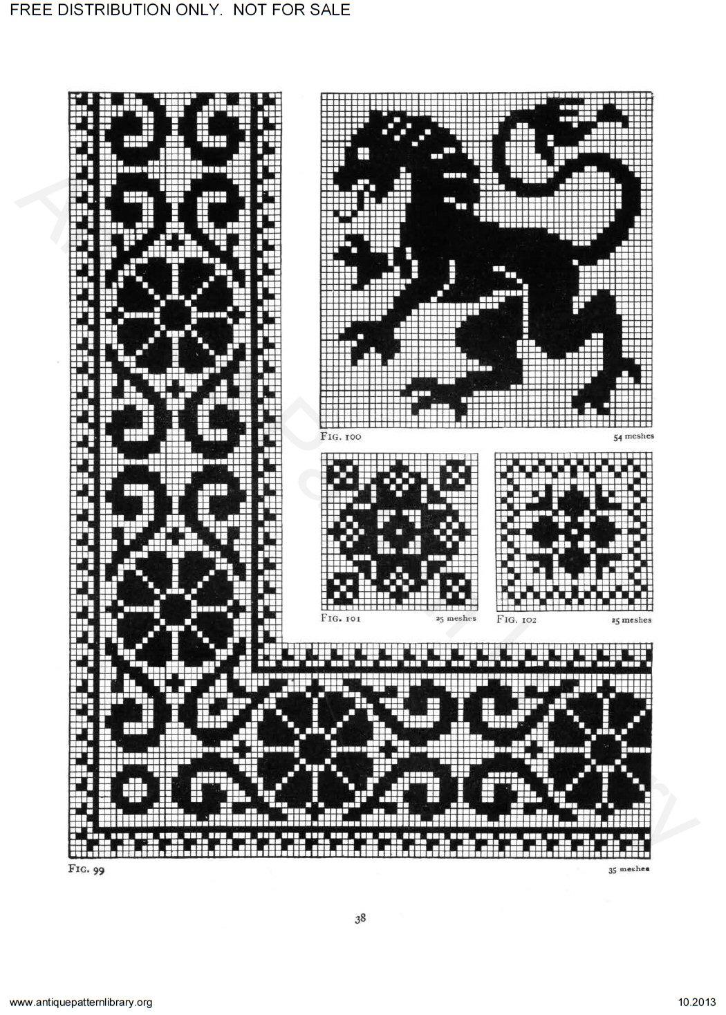 apl 6ja035 priscilla filet crochet book page 44