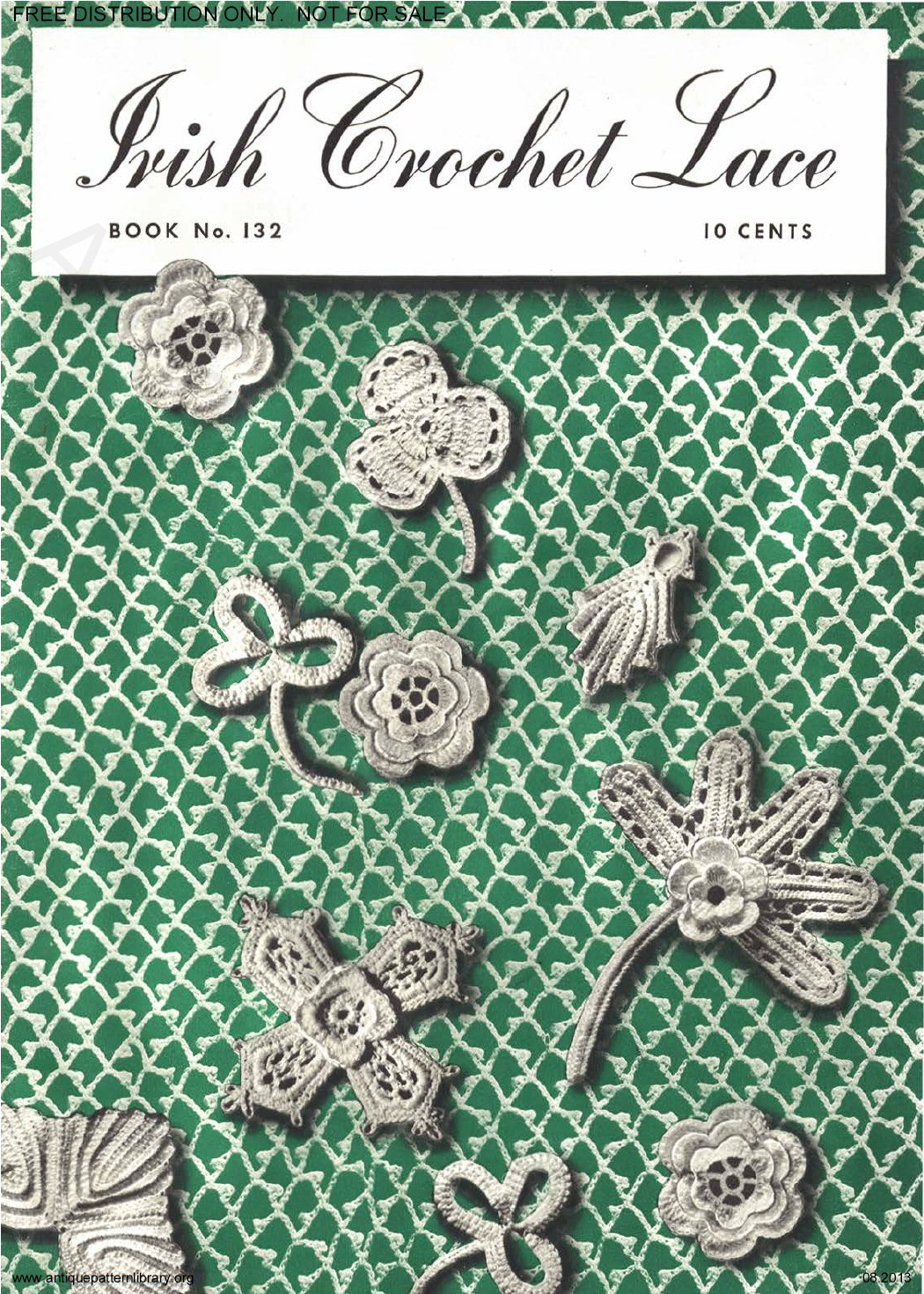Antique Pattern Library Crochet | antique pattern library ...