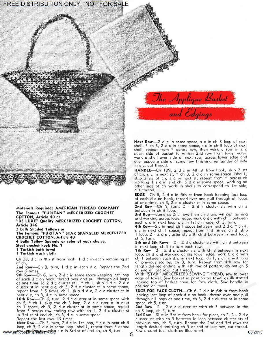 6-TA017 Star Book 121 Crochet Suggestions for Fairs and Bazaars