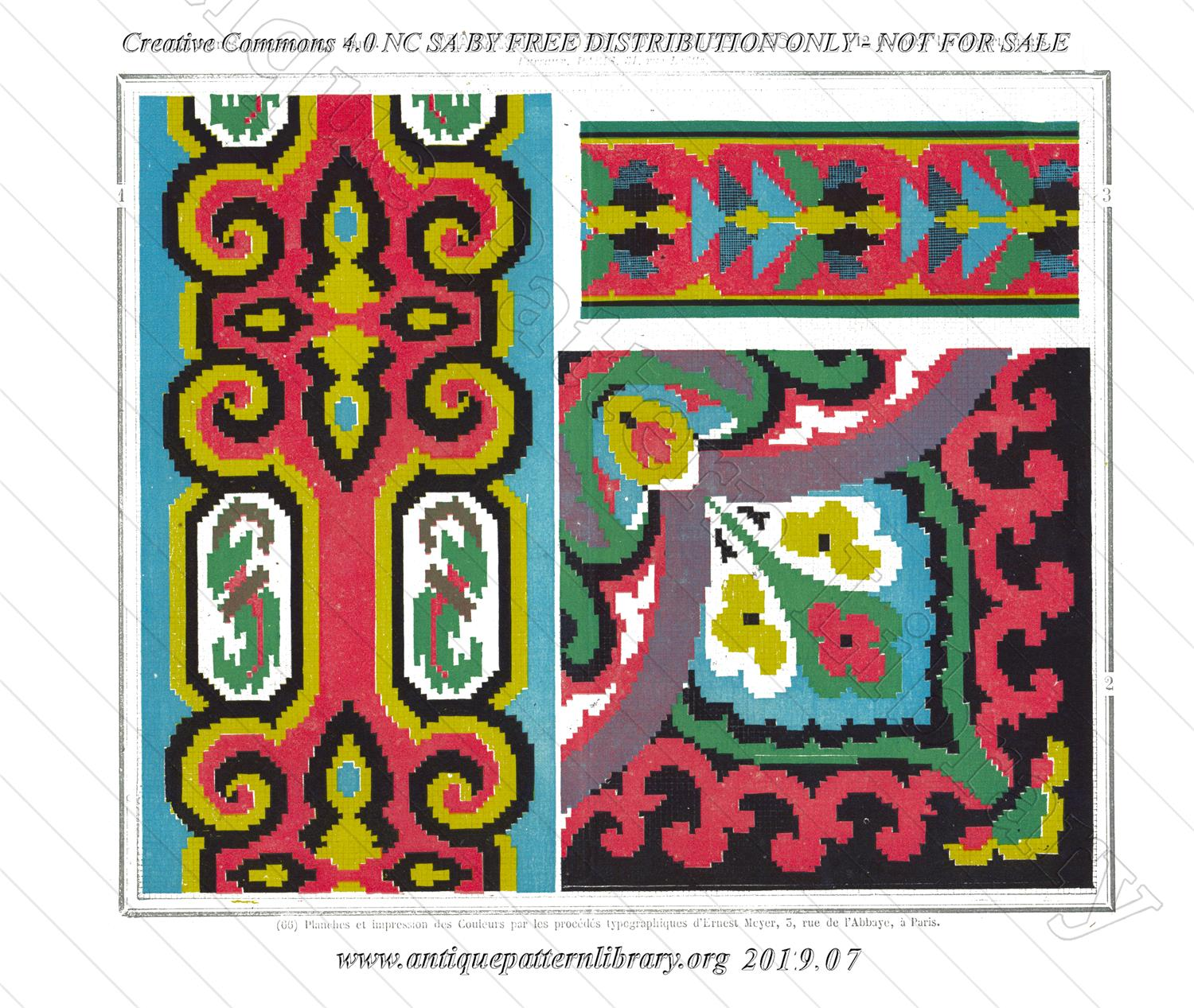 A-MH024 Three patterns