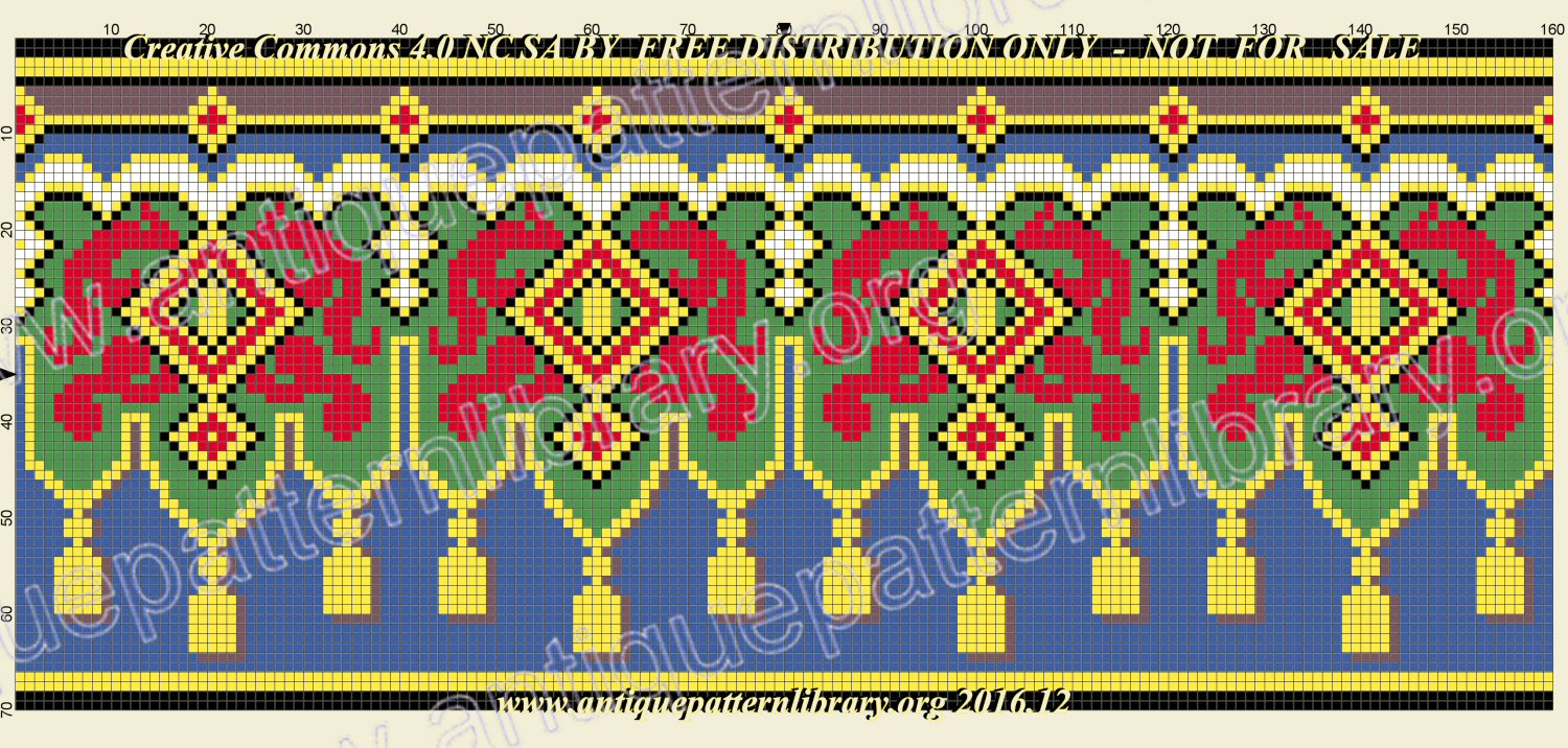 A-MH099 Purse and border pattern