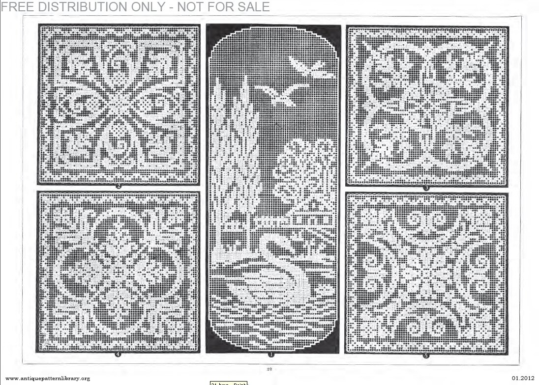Pin Antique-pattern-library on Pinterest