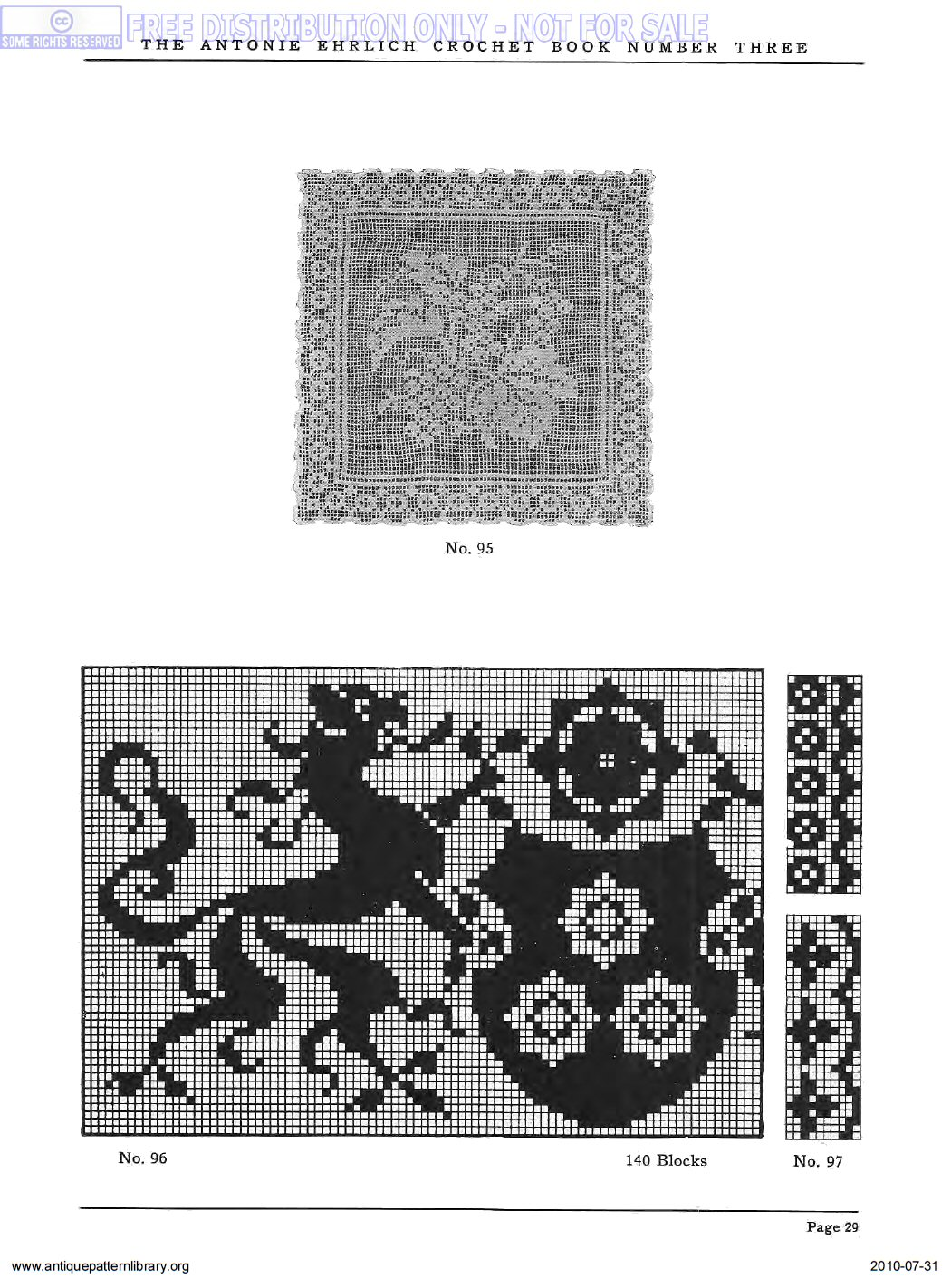B-AH001 Antonie Ehrlich Crochet Book No. 3: