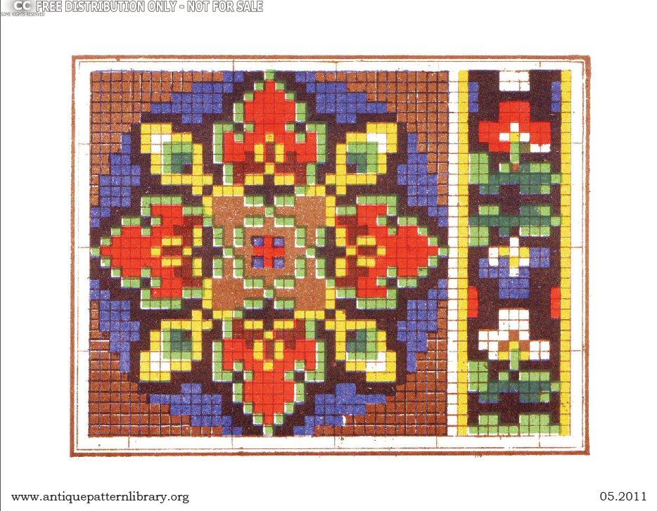 apl rouyer a recueil de motifs et dalphabets colories