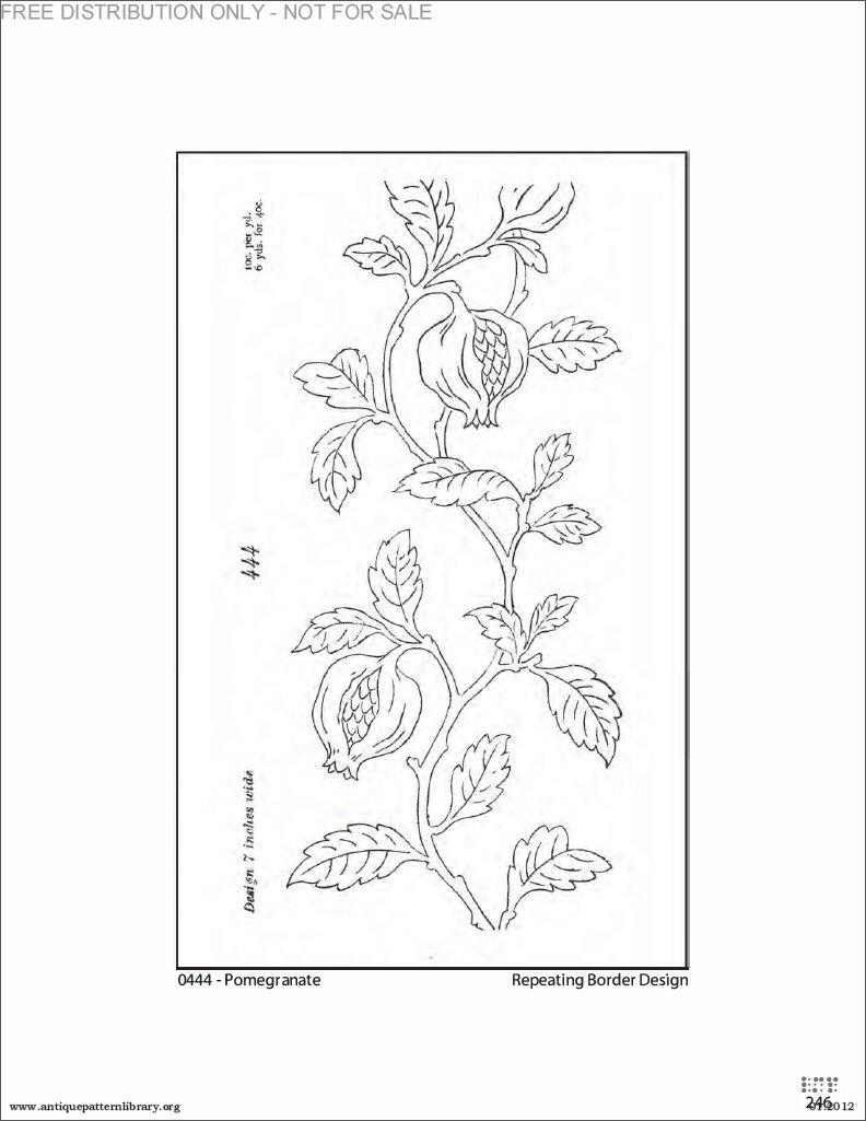Antique Pattern Library Simple Decoration