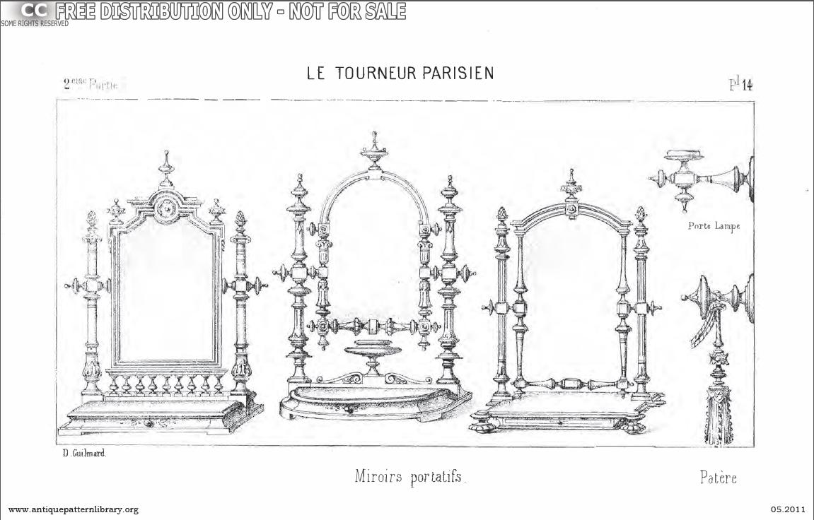 Apl miroirs portatifs patiere porte lampe b sw001 for Miroir du desir