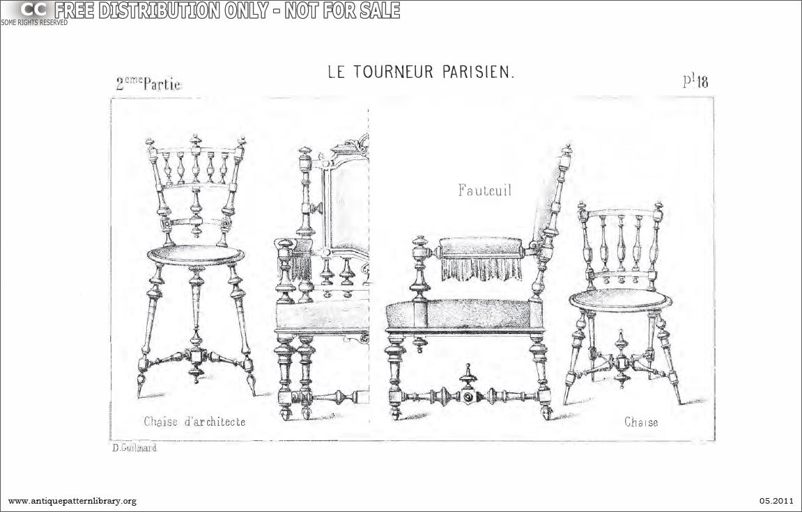 Chaise d'Architecte, Fauteuil, Chaise