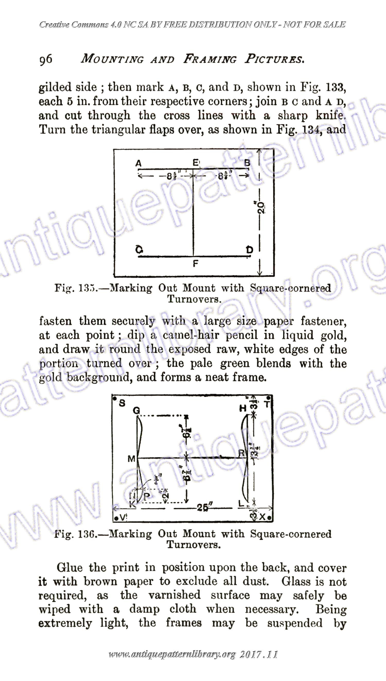 B-SW032 Mounting and Framing Pictures