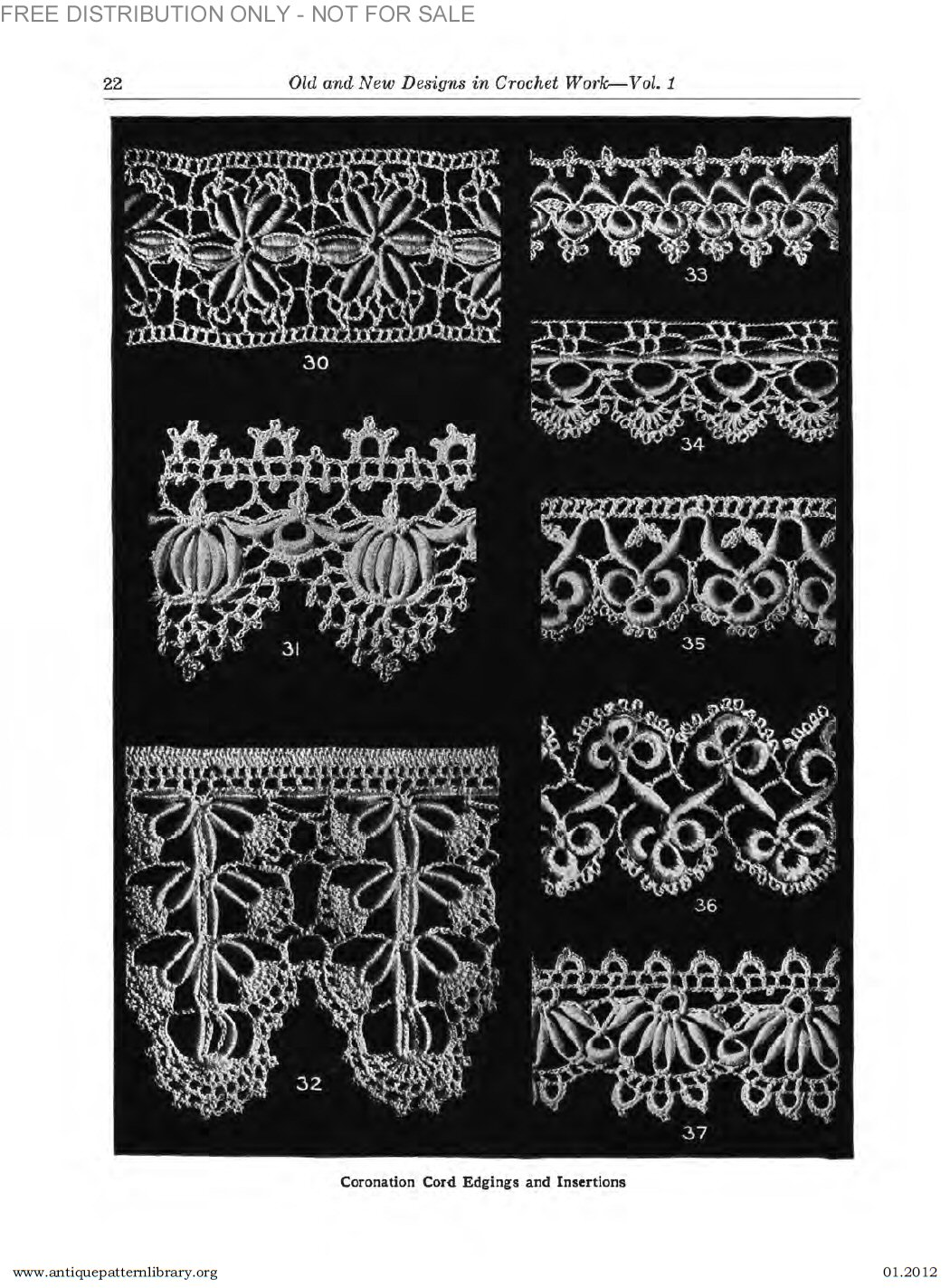 B-SW070 Old and New Designs in Crochet Work,