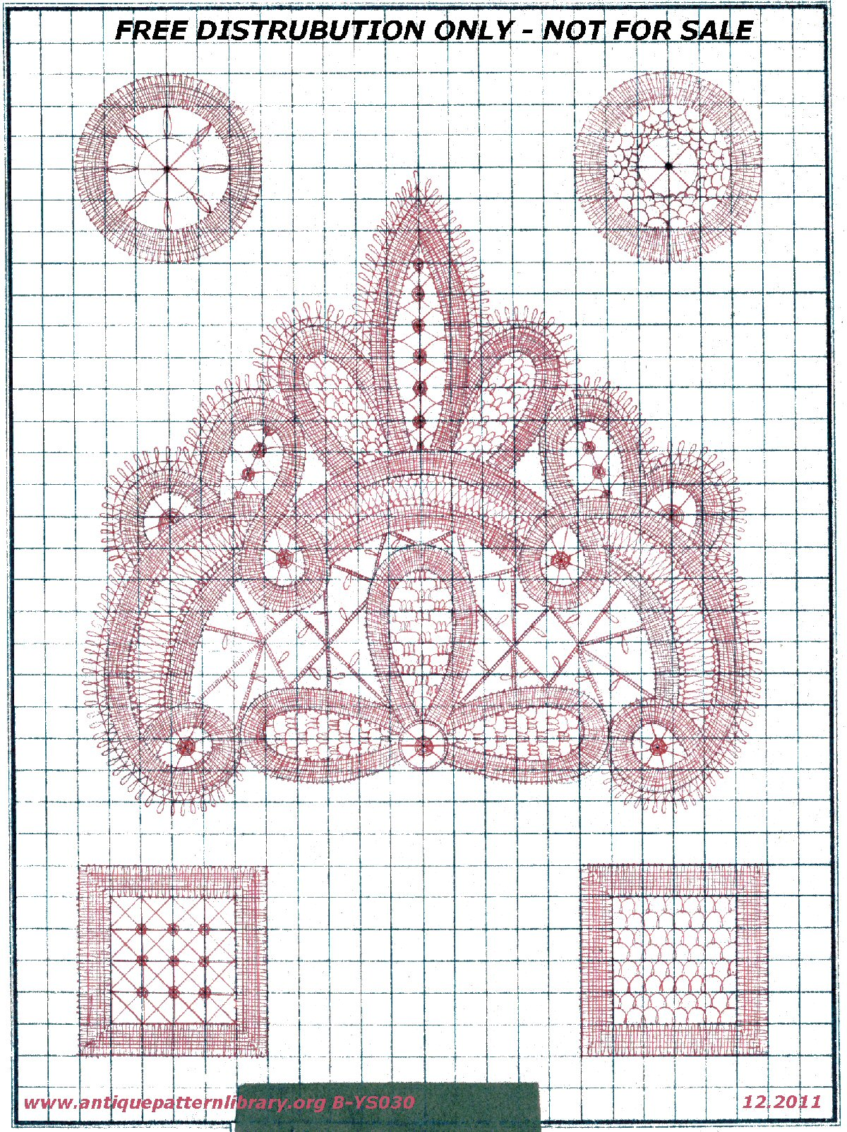 Handdrawn pattern sheet