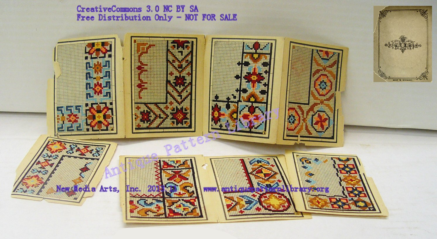 Handpainted victorian embroidery patterns