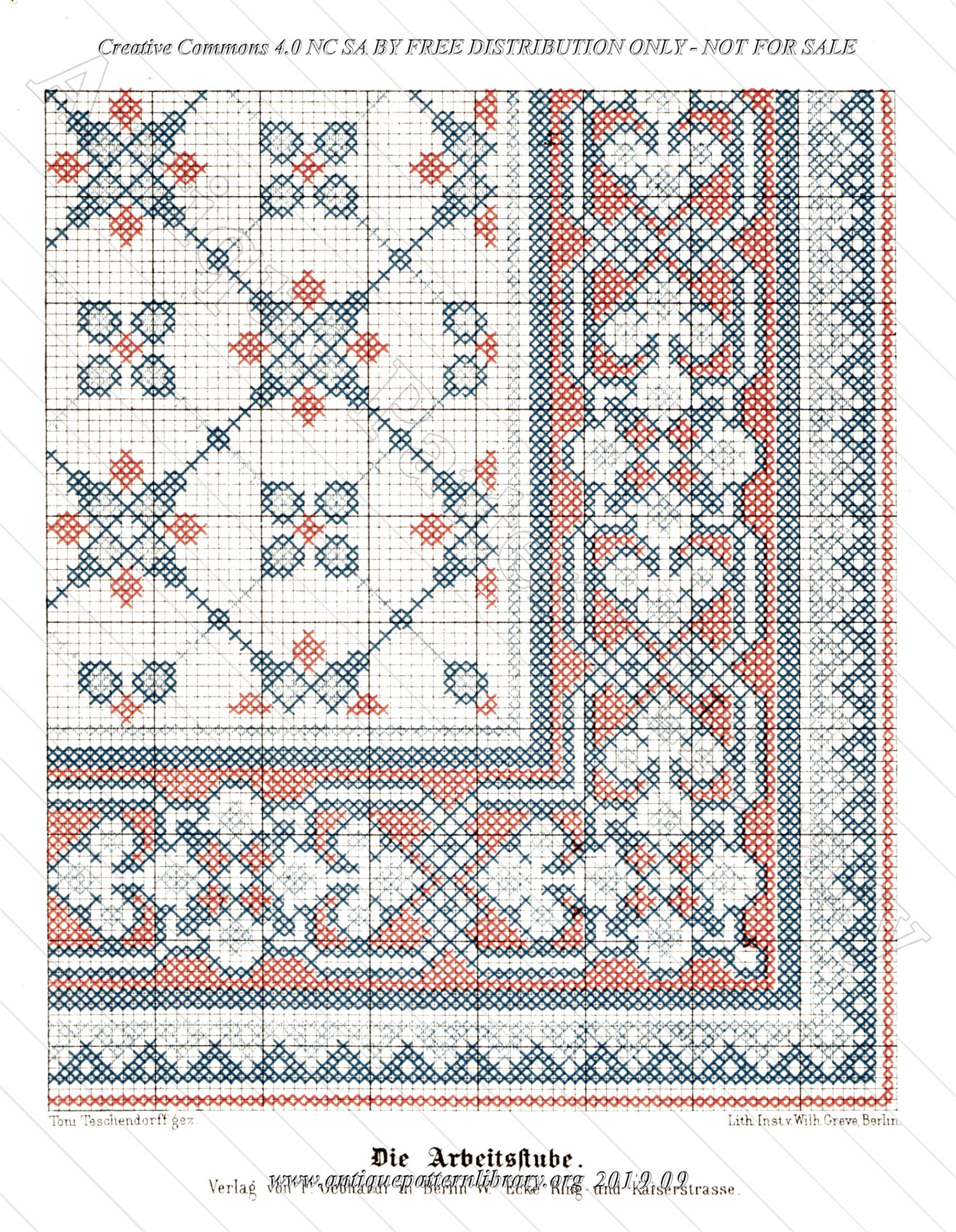 C-YS691 Quarter pattern rug design