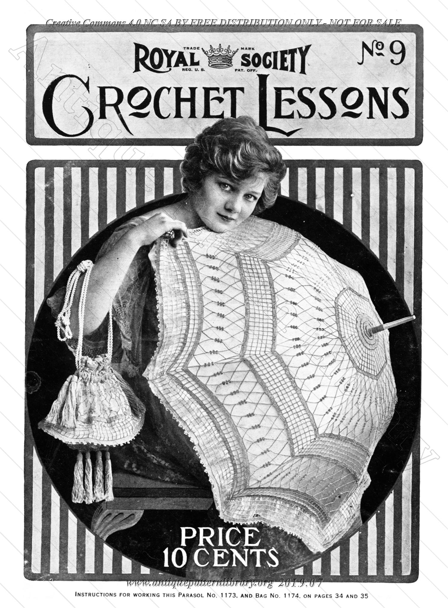 D-SW013 Royal Society Crochet Lessons No. 9
