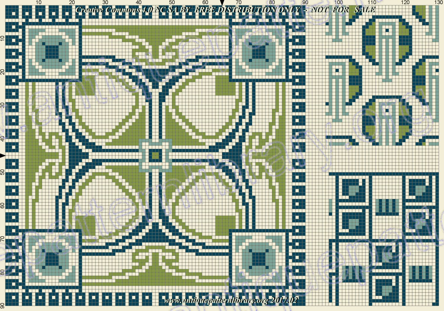 F-IS058 Art-Deco geometric pattern