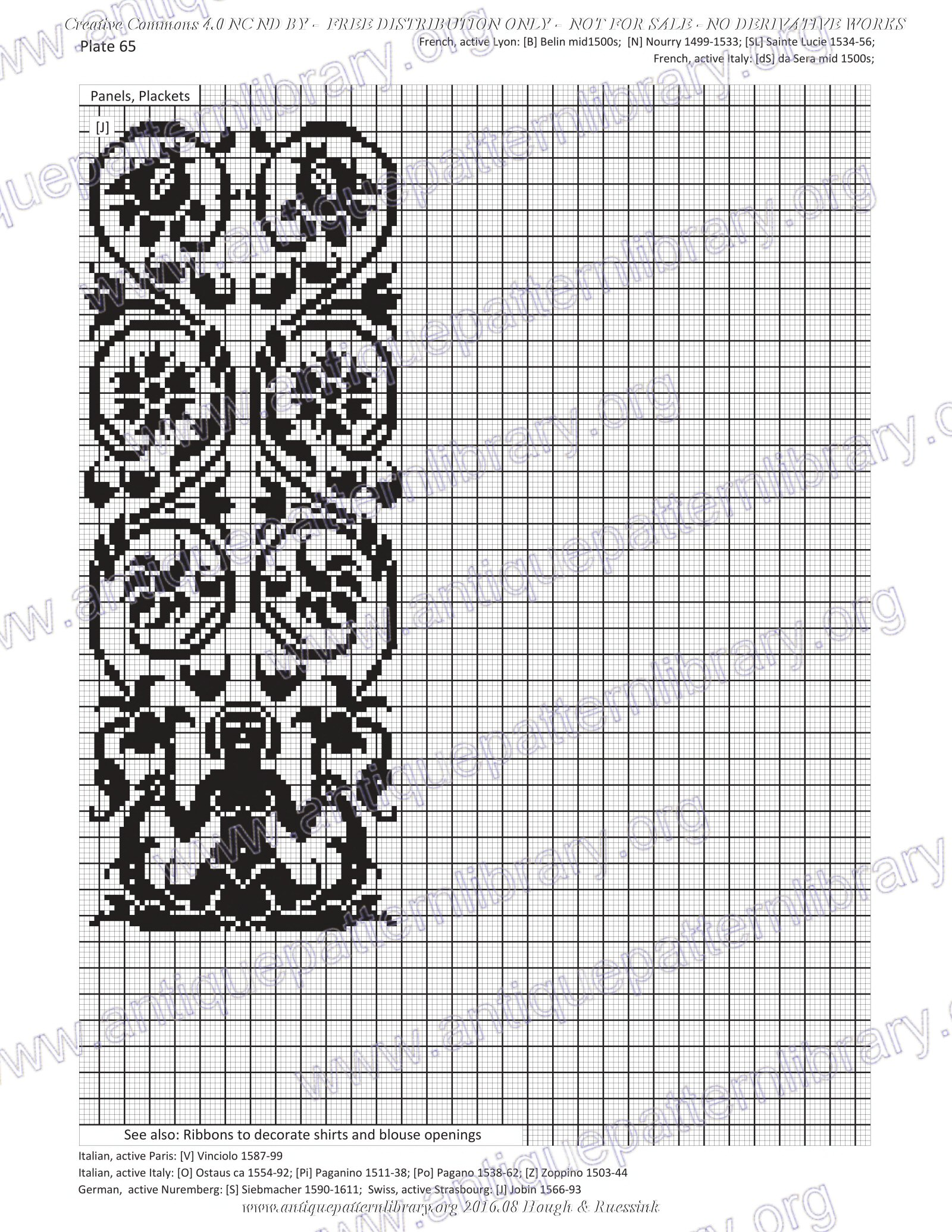 G-HH001 Design Elements of Renaissance Embroidery No derivative use allowed