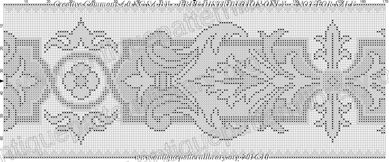 G-LL001 Chair seat needlepoint pattern