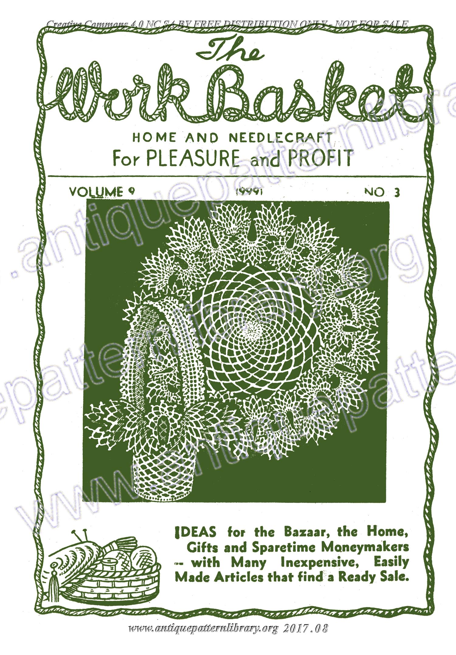 H-WB001 The Workbasket Vol. 9 No. 3