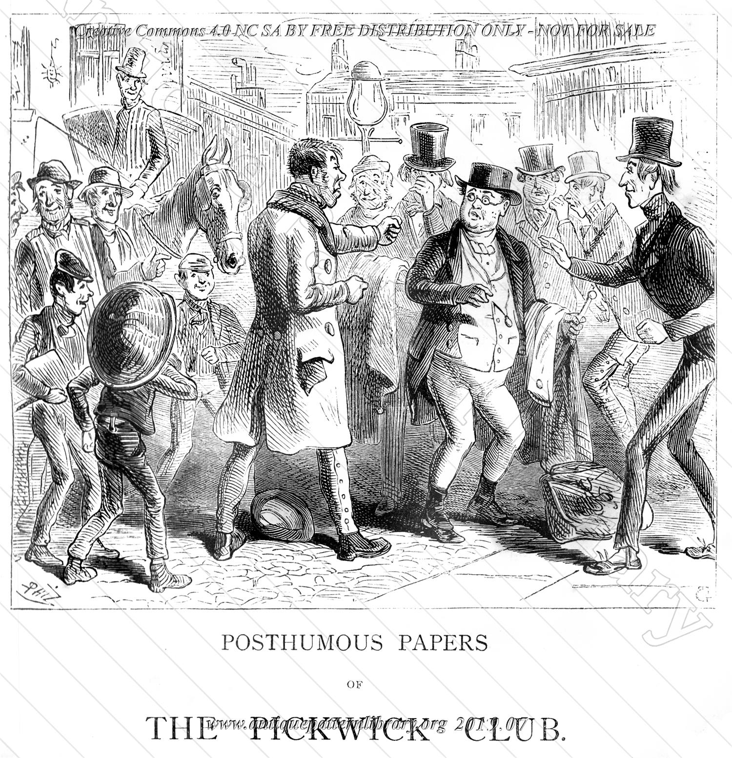 I-FW003 The Pickwick Papers