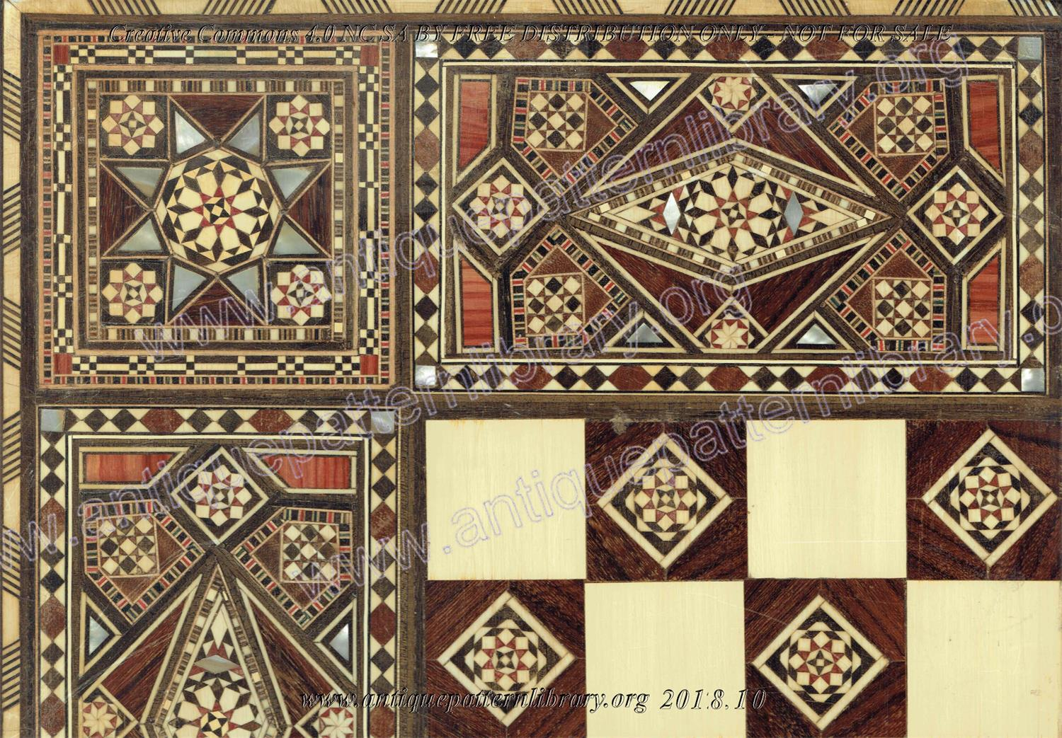 I-YS002 Nine inlaid chessboards