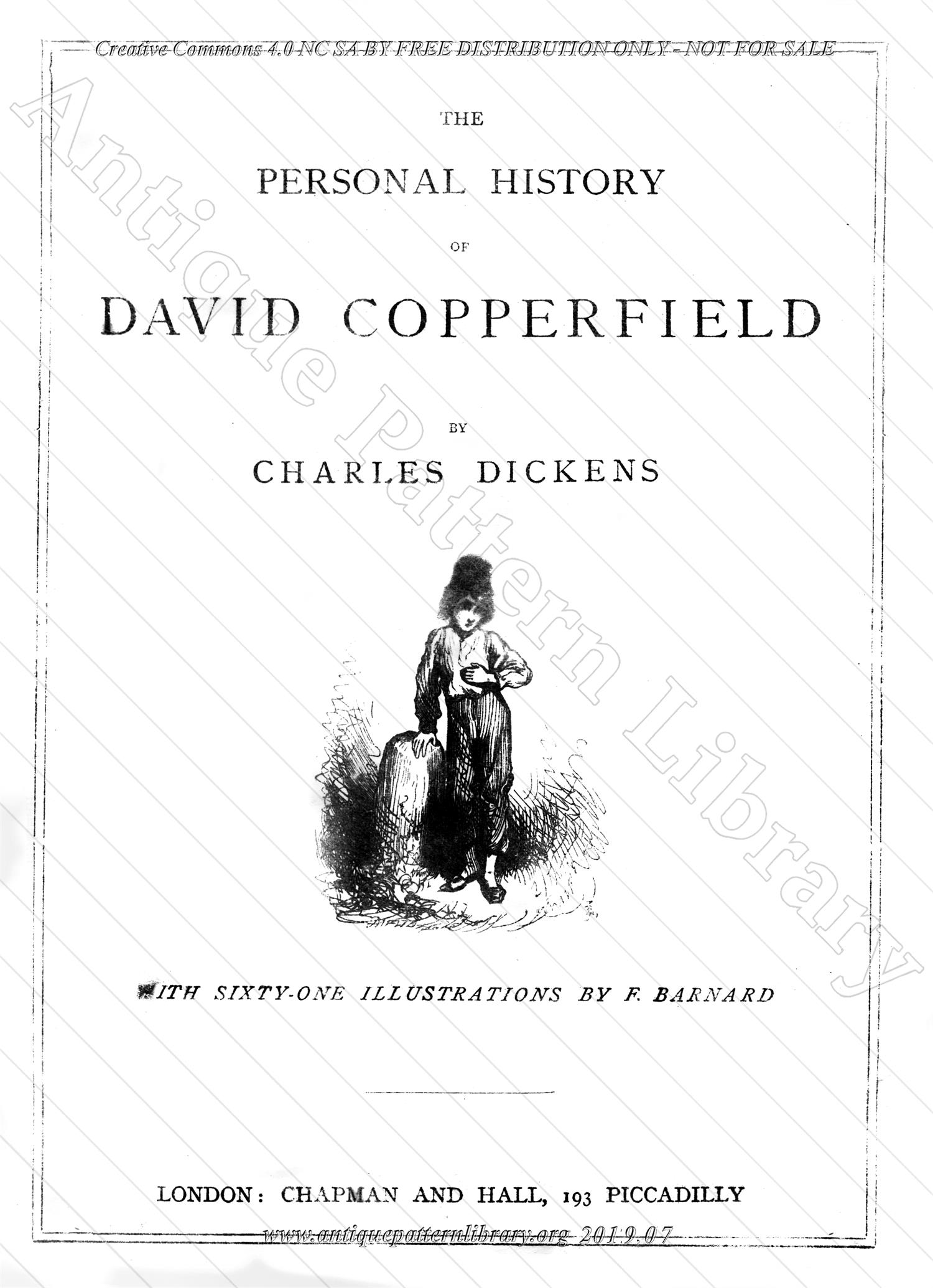 J-FW010 The Personal History of David Copperfield