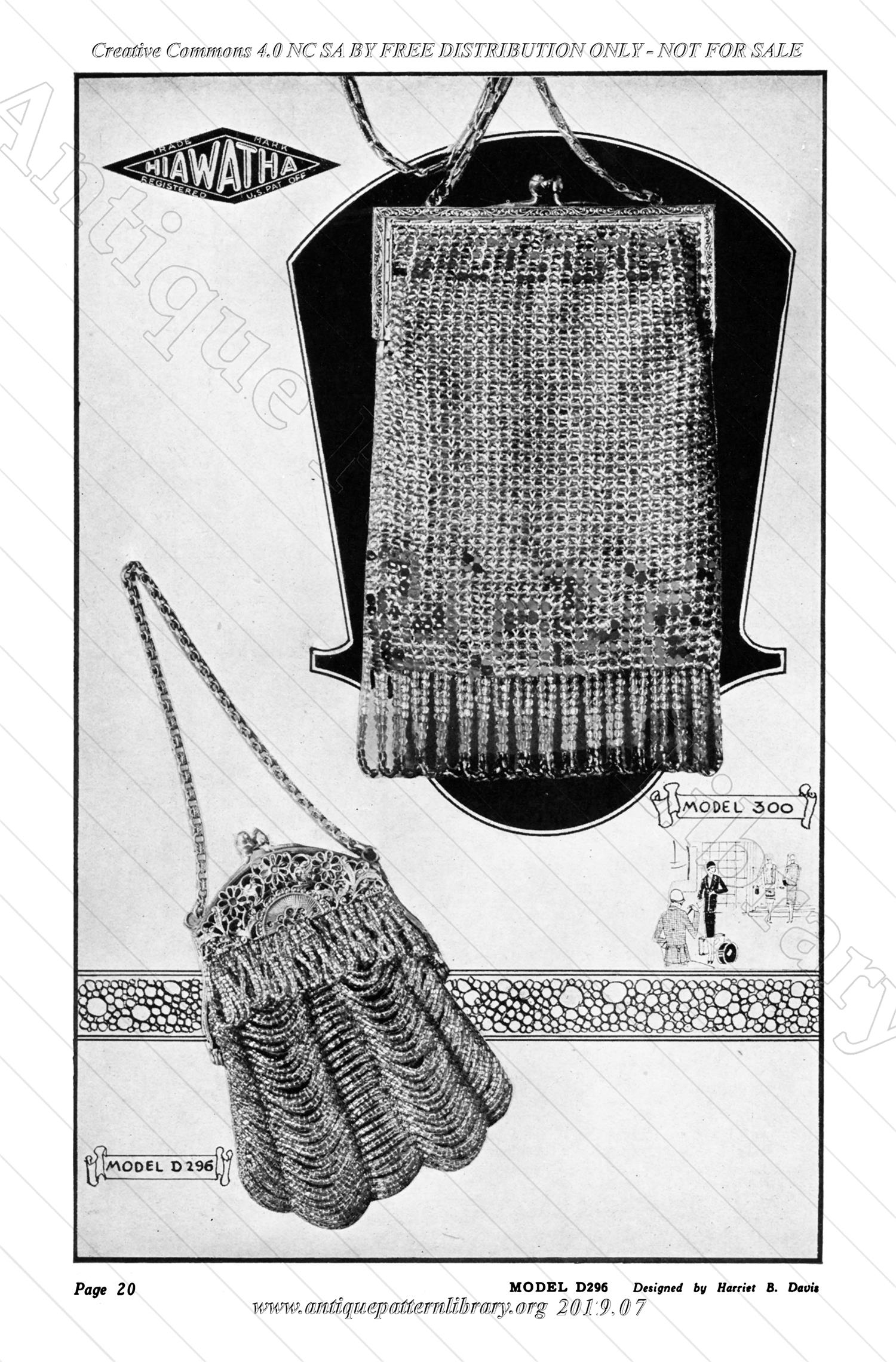 J-WS001 The Hiawatha Book of Beaded Bags, 9th Edition