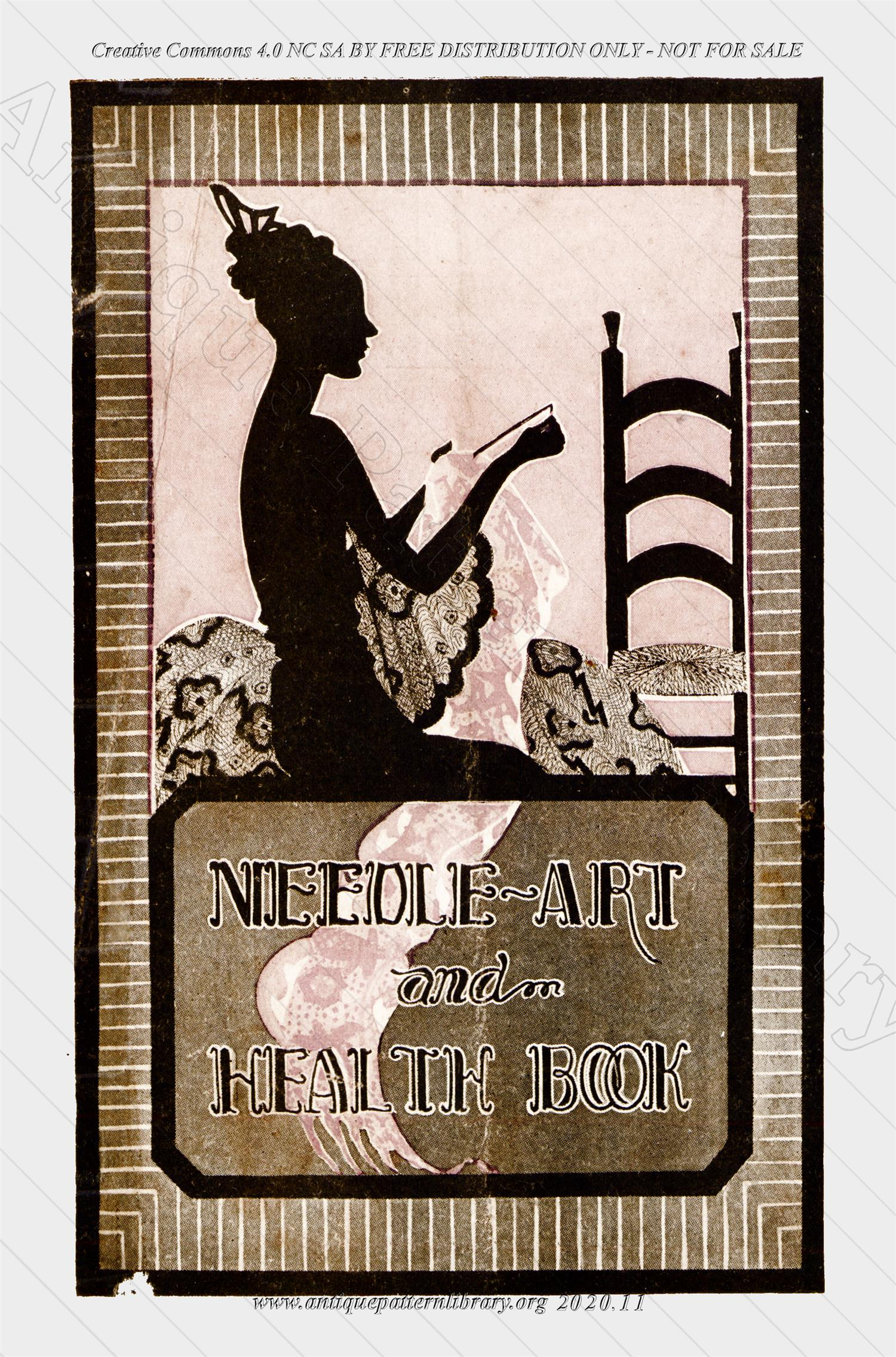 K-CL001 Needle-Art and Health Book