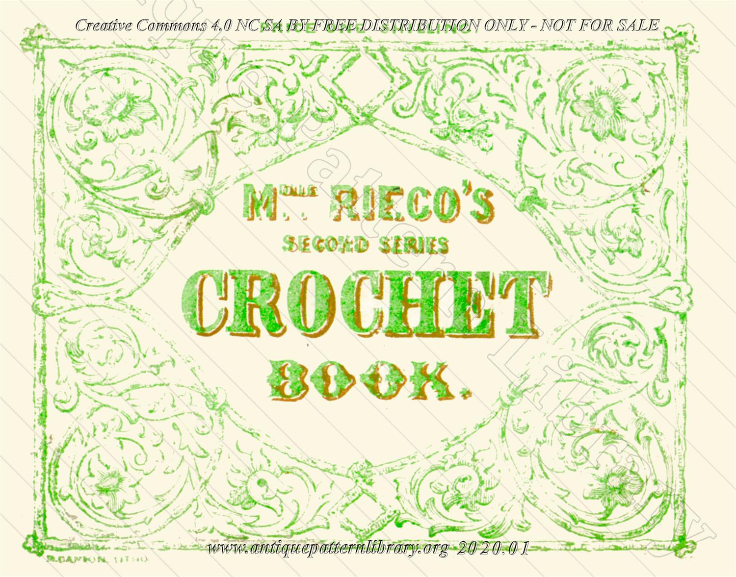 K-YS001 The Crochet Book