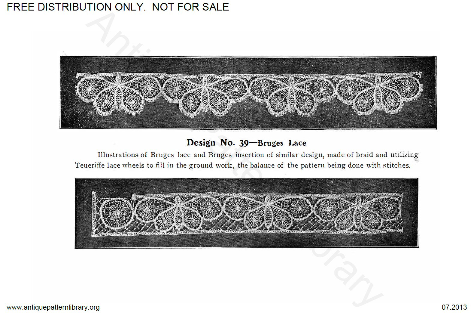6-DS001 Teneriffe Lace Designs and Instructions.