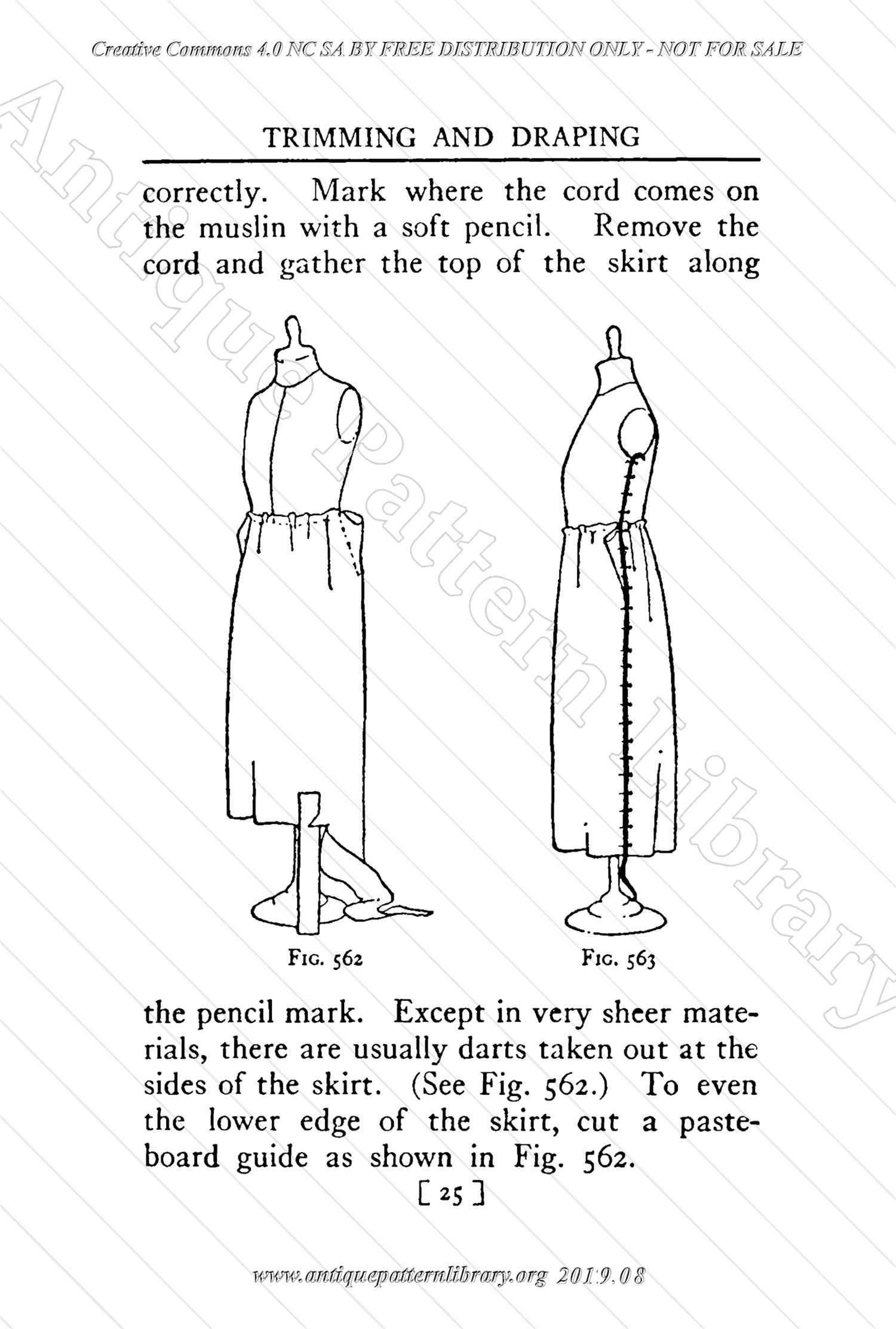 B-YS106 Complete Course in Dressmaking in Twelve Lessons: