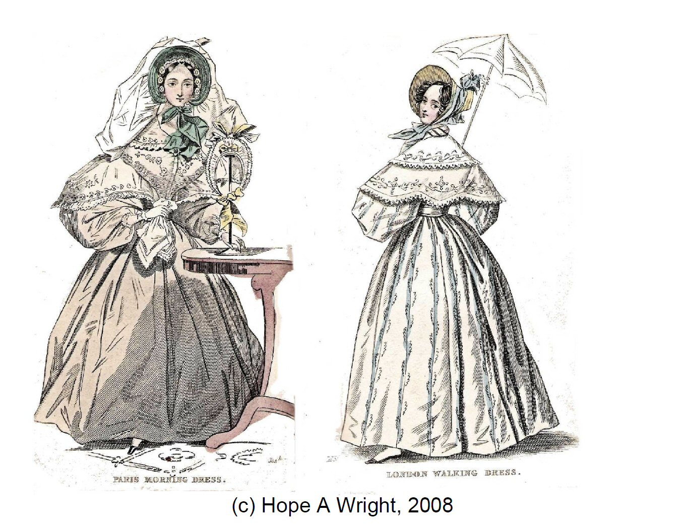 C-HW003 The Ladies Pocket Magazine 1835, Part 1