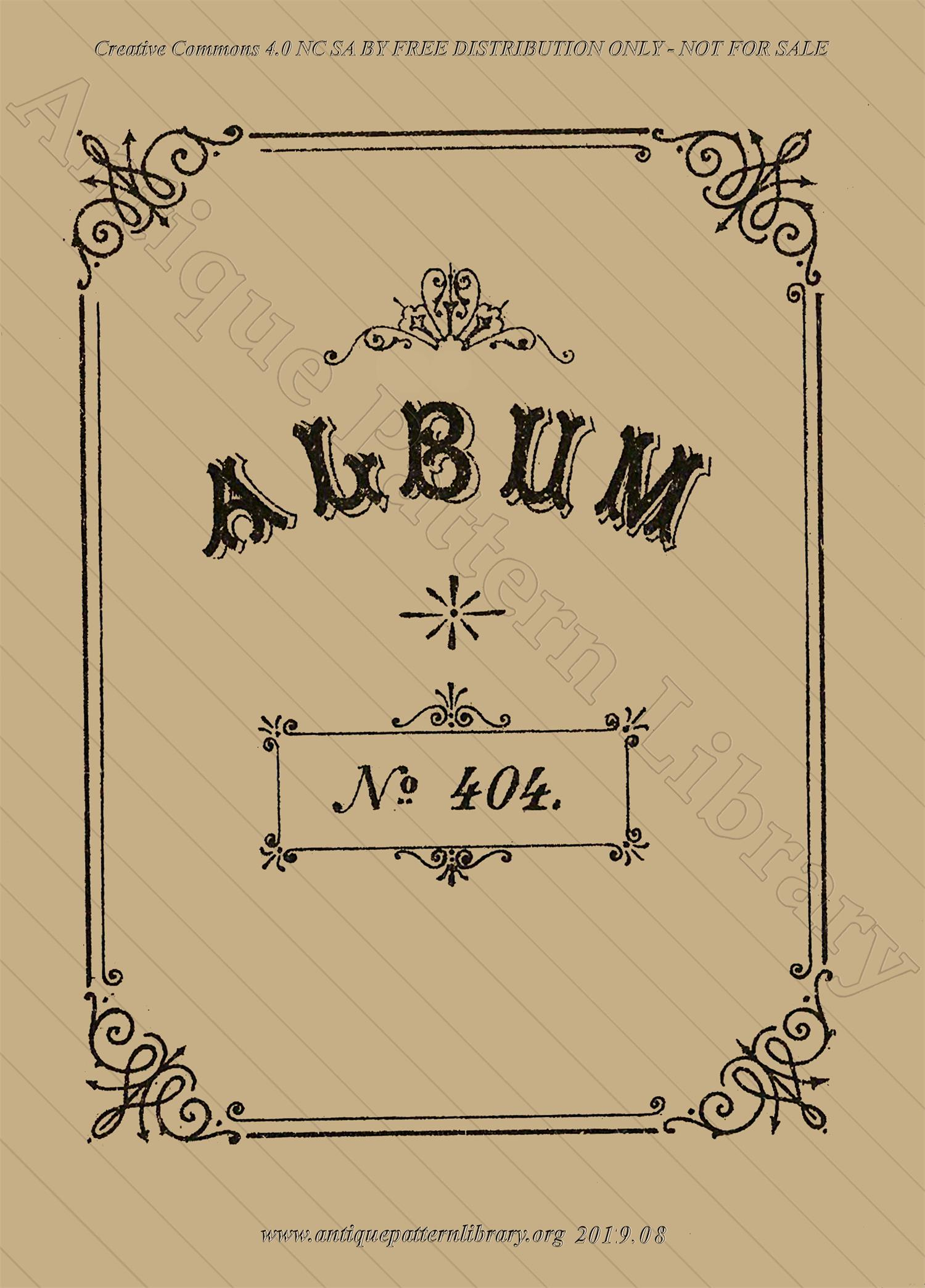 F-IS099 Album No 404
