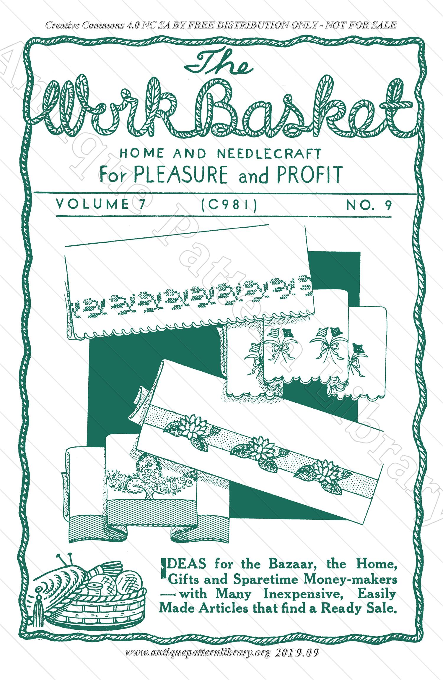 H-ML076 The Workbasket Vol. 7 No. 9