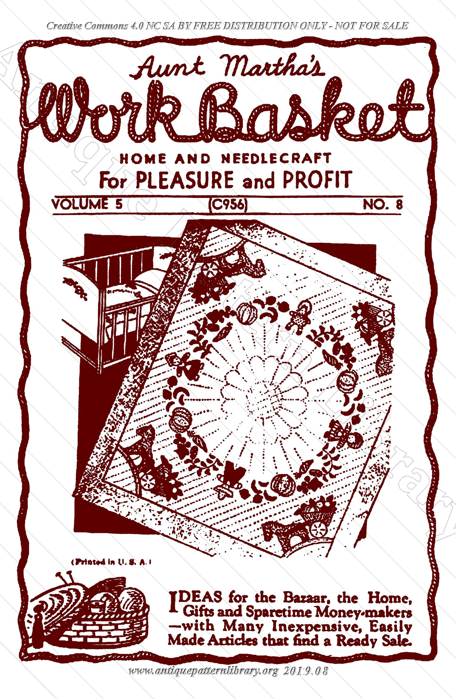 I-SG006 The Workbasket Vol. 5 No. 8