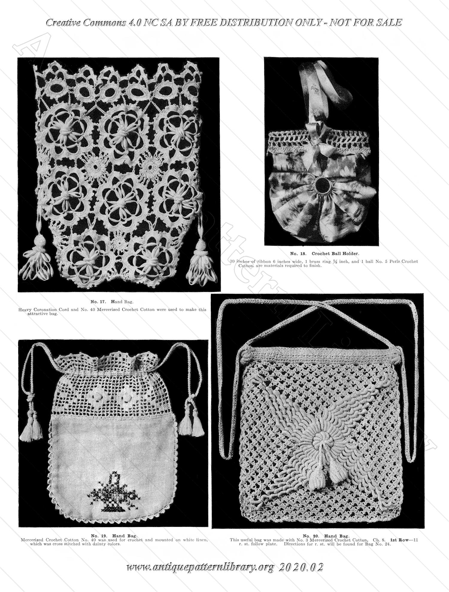K-ME003 Bags of all kinds in Crochet Book No. 5