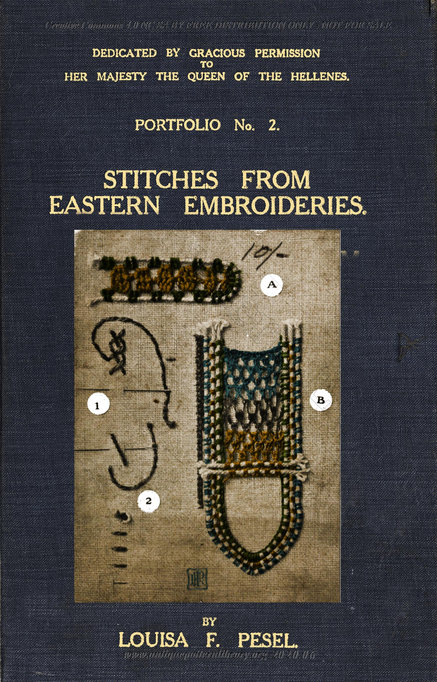 K-YS004 Portfolio No. 2 - Stitches from Eastern Embroideries